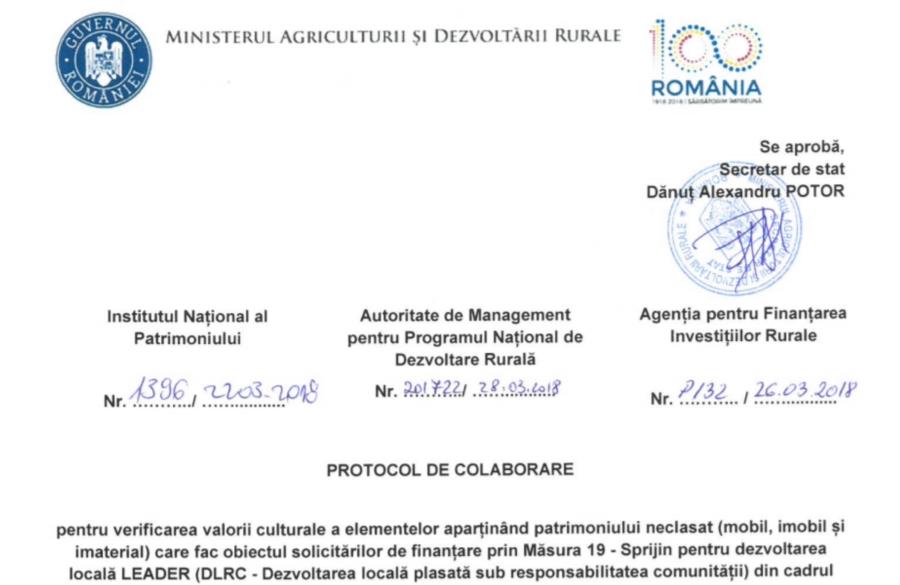 Együttműködési megállapodás - kulturális örökség